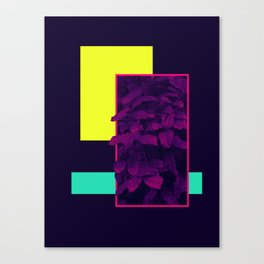 Neon Bush #society6 #retro Canvas Print