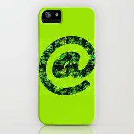 @ symbol - Lime iPhone Case