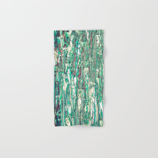 Abstract green Hand & Bath Towel