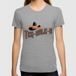 Teq-Kale-A Tequila Kale Art for Vegans, Vegetarians Light T-shirt
