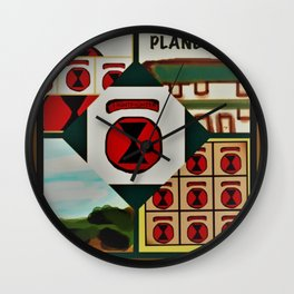 Tribute to Fort Ord Wall Clock