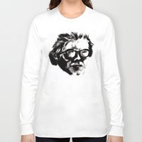 beethoven Long Sleeve T-shirts featuring Hipster Beethoven by Hurtin Albertan