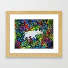 rhinocerish Framed Art Print