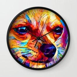 Chihuahua 2 Wall Clock