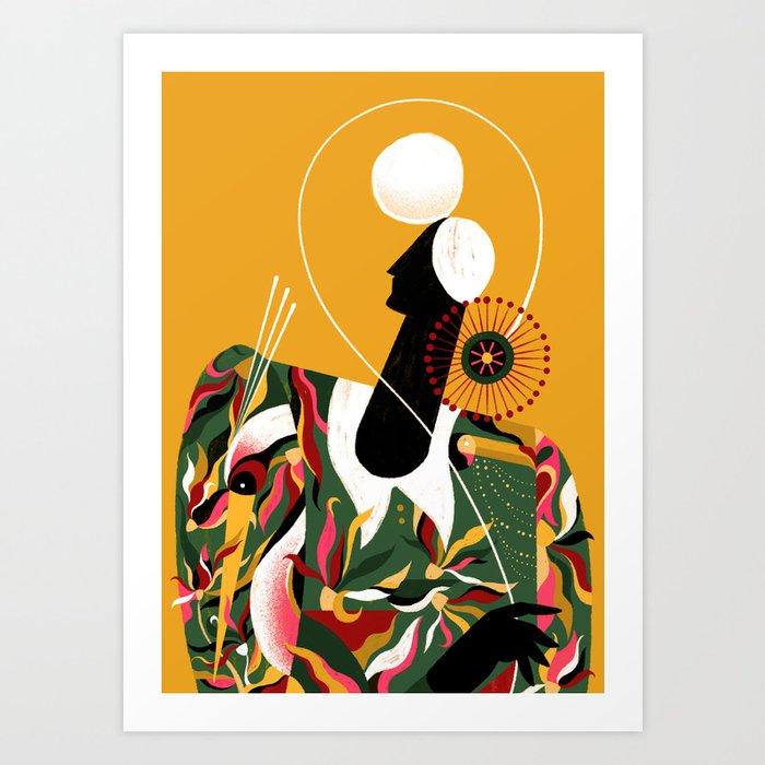 AZA Art Print