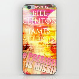 The President is MISSING iPhone Skin