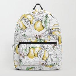 If Life Gives You Lemons, Make Lemonade! Backpack