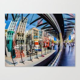 Abstract on Bourke Canvas Print