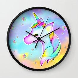 Twinkle Unicorn Wall Clock