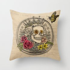 The Eternal Queen Throw Pillow