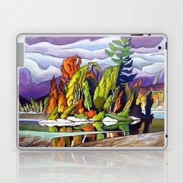 AJ's Little Island by Amanda Martinson Laptop & iPad Skin