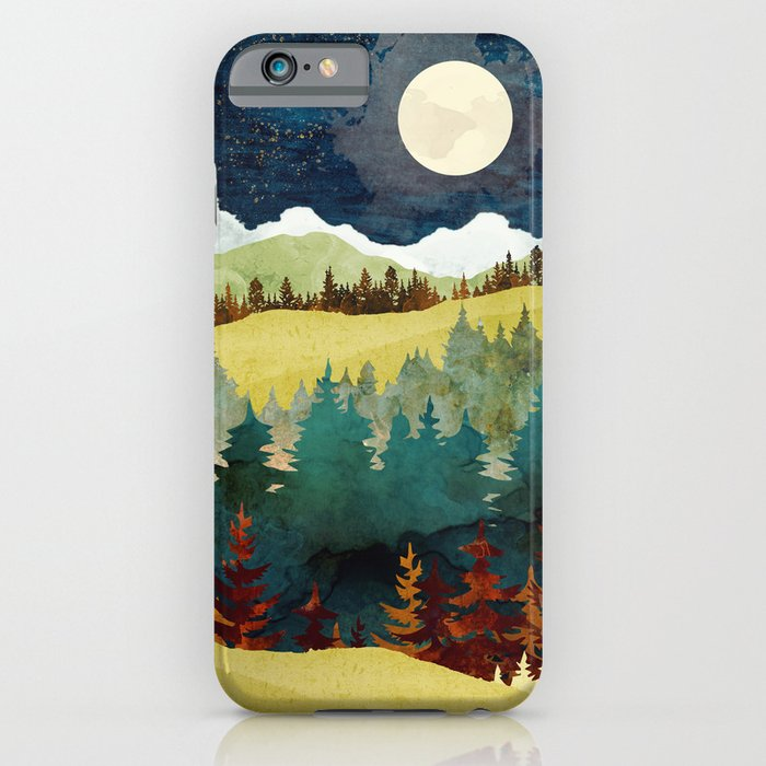 autumn moon iphone case