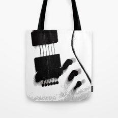 Guitar Iceman Tote Bag