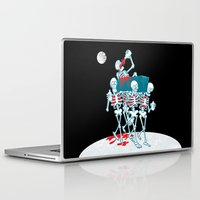 day of the dead Laptop & iPad Skins featuring Day of the Dead by Studio Drawgood