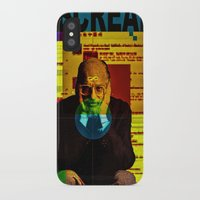 scream iPhone & iPod Cases featuring Scream by Alec Goss