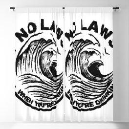 ain't no laws Blackout Curtain