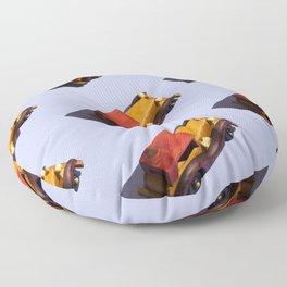 Wooden cars Floor Pillow