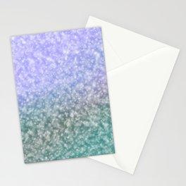 Blueish shades Stationery Cards
