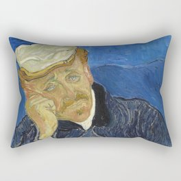 Vincent van Gogh - Dr Paul Gachet Rectangular Pillow