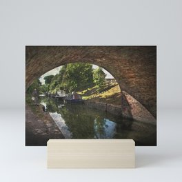 Painting Pewsey Bridge Mini Art Print