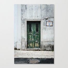 Door No 2 Canvas Print