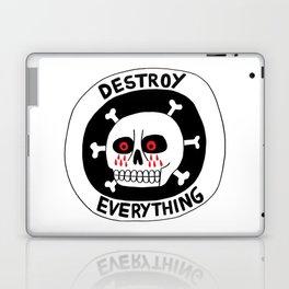 DESTROY EVERYTHING Laptop & iPad Skin