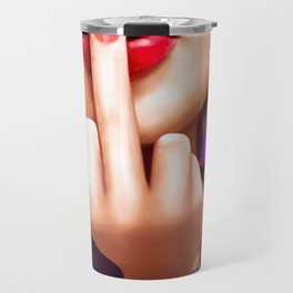 Flipping You Off Travel Mug