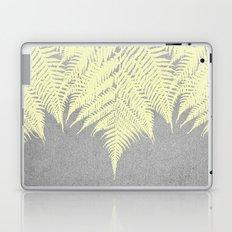 Concrete Fern Yellow Laptop & iPad Skin