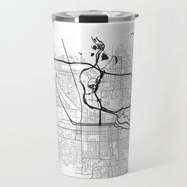 EUGENE MAP PRINT Travel Mug