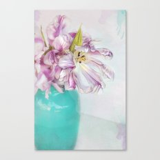Parrot Tulips Canvas Print