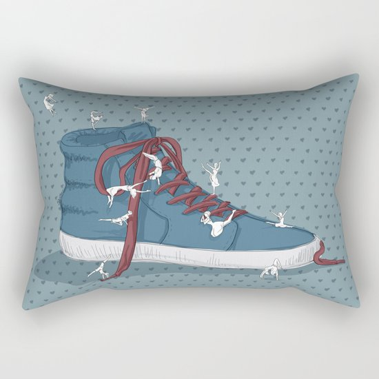 Where are you going? Rectangular Pillow