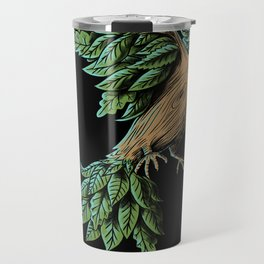 Wood Bird Travel Mug