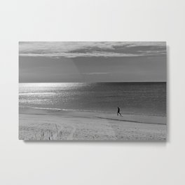 Alone with my Thoughts Metal Print