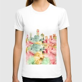 Dallas City Skyline Texas T-shirt