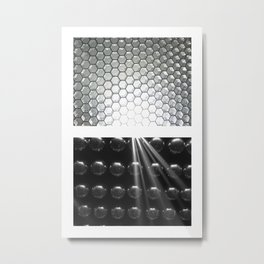 Light Balls Metal Print