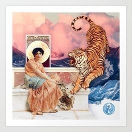 Tiger Mountain Art Print