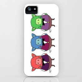 The three little pigs iPhone Case