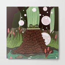 Toad Sage Metal Print