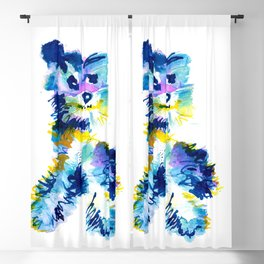 Happy Dog Blackout Curtain