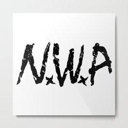 N.W.A Metal Print