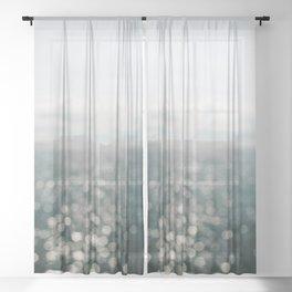 Pamlico Sparkle Sheer Curtain