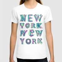 nyc T-shirts featuring NYC by Fimbis