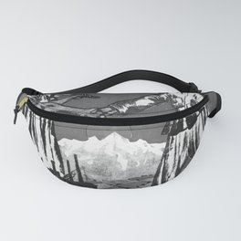 cold war, Soviet power is the pledge of the indestructible union of peasants and workers! Fanny Pack