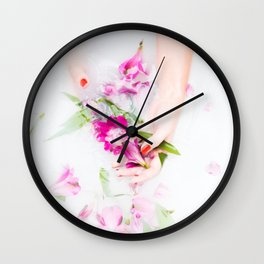 Ophelia's Hands Wall Clock