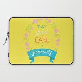 Take Good Care Laptop Sleeve