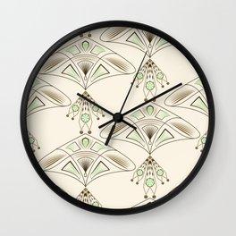 Art Deco 33 Wall Clock