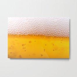 BEER Alcohol Drink Drinks Metal Print