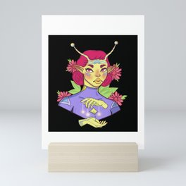 Singe Space Babe 2 Mini Art Print