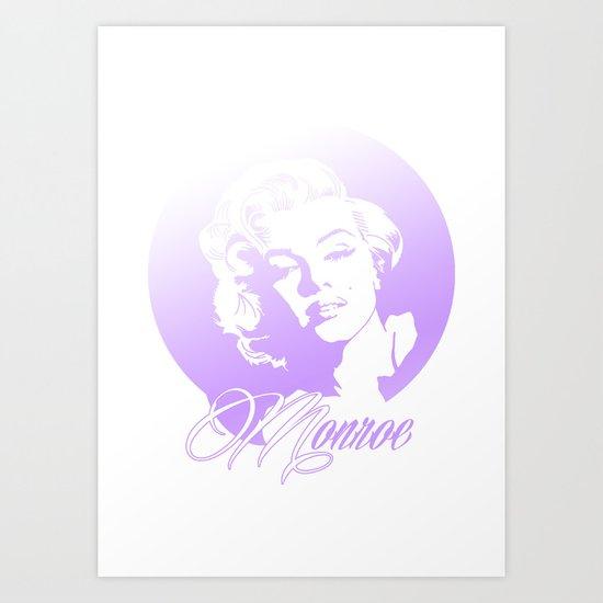 Maryiln Monroe Art Print