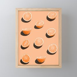 Orange Delight Framed Mini Art Print
